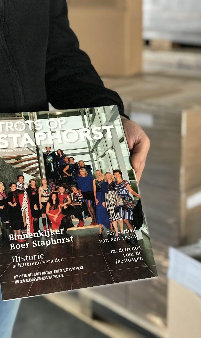 TROTS OP STAPHORST: NOG EEN PAAR DAGEN EN DAN OP DE MAT