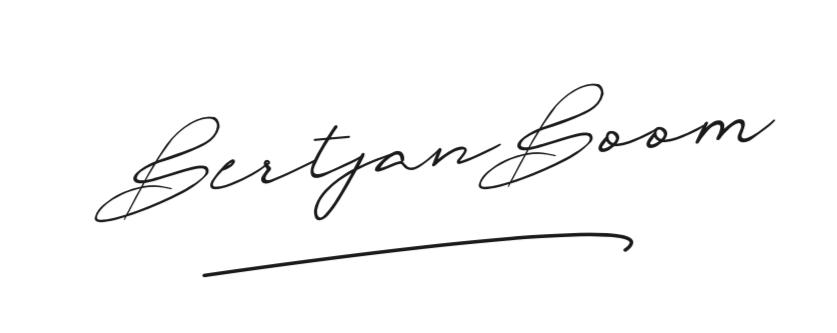 Bertjan Boom B.V. handtekening